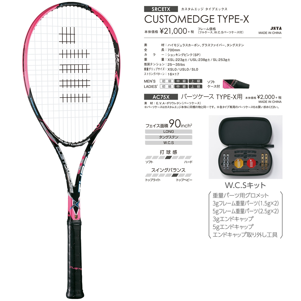 CUSTOMEDGE TYPE-X