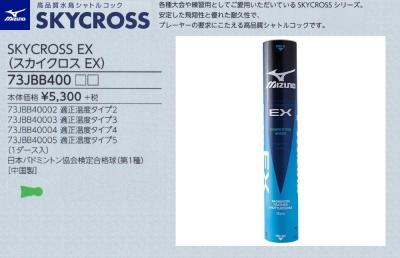 SKYCROSS EX